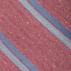 Ridgemont Stripe Raspberry Tie