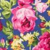 Rosebush Floral Blue Tie