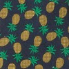 Pineapple Fruit Navy Tie
