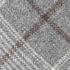Barberis Wool Freddo Grey Tie
