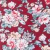 Rustica Florals Burgundy Tie