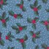 Under The Mistletoe Light Blue Tie