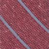 Decruise Stripe Raspberry Tie