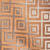 Square Geo Orange Tie