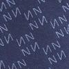 Monogram Navy N Tie