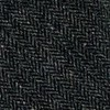 Unlined Herringbone Wool Charcoal Tie