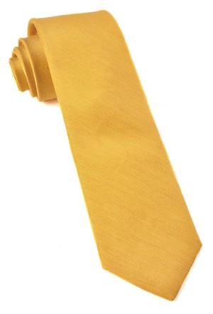 Linen Row Yellow Tie