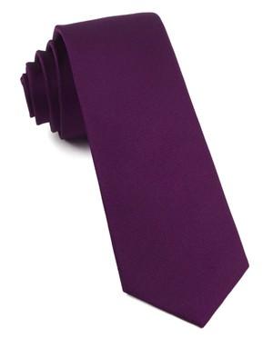 Grosgrain Solid Azalea Tie