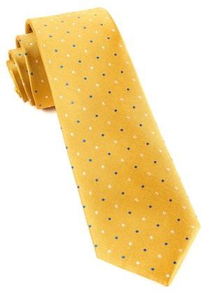 Jpl Dots Yellow Tie