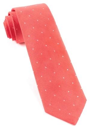 Bulletin Dot Coral Tie