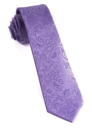 Ceremony Paisley Lilac Tie