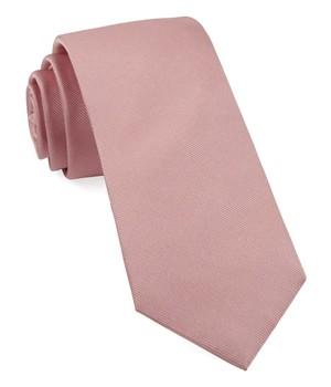 Grosgrain Solid Baby Pink Tie