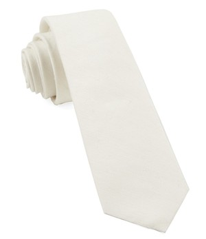 Linen Row Ivory Tie