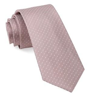 Mini Dots Mauve Stone Tie