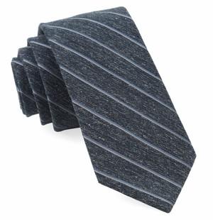 Pike Stripe Navy Tie