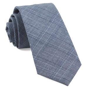 Smithtown Plaid Grey Tie