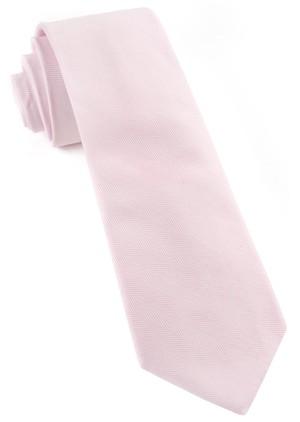 Solid Flex Blush Pink Tie