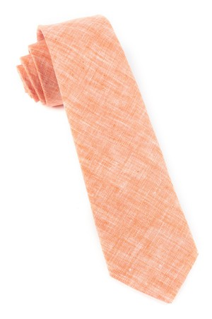 Freehand Solid Melon Tie