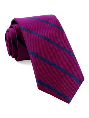 Wheelhouse Stripe Azalea Tie