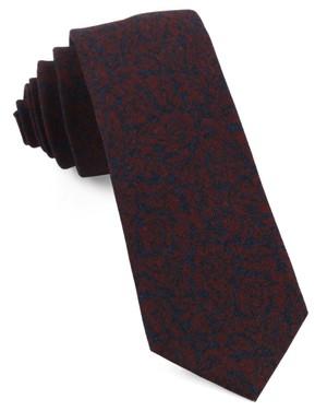 Kingsley Floral Red Tie