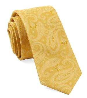 Platform Paisley Gold Tie