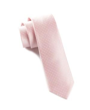 Mini Dots Blush Pink Tie
