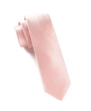 Mini Dots Light Pink Tie
