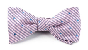 French Kiss Baby Pink Bow Tie