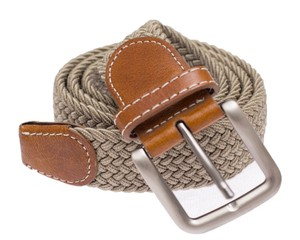 Braided Khaki Belt