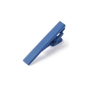 Matte Color Classic Blue Tie Bar
