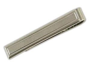 Sweet Silver Tie Bar