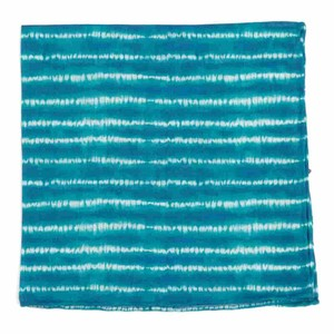 Day Dreamer Stripe Turquoise Pocket Square