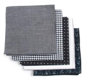 Basic Black Pack Pocket Square
