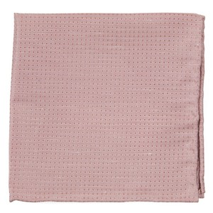 Dotted Spin Blush Pink Pocket Square