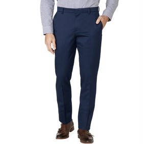 Stretch Cotton Classic Navy Pants