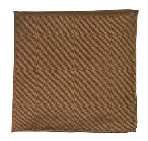 Solid Twill Latte Pocket Square