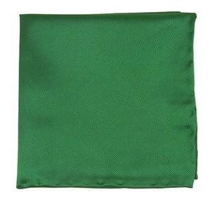 Solid Twill Emerald Pocket Square