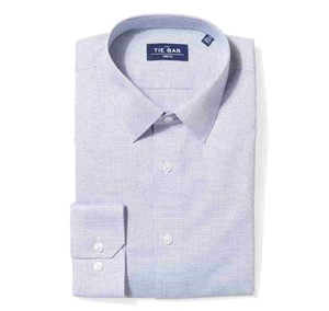 Micro Houndstooth Geo Navy Non-Iron Dress Shirt