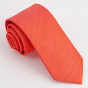 Grosgrain Solid Persimmon Tie