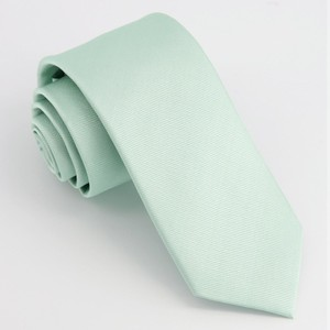 Grosgrain Solid Dusty Sage Tie
