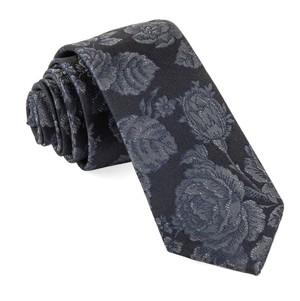 Ritz Floral Black Tie