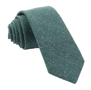 Bear Lake Solid Hunter Green Tie