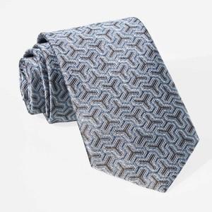 Regency Geo Slate Blue Tie