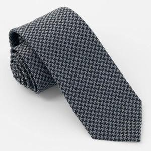 Puppy-tooth Black Tie