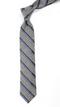 Spirit Stripe Navy Tie