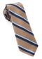 918 Stripe Tan Tie