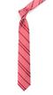 Wool Path Stripe Red Tie