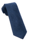 Festival Textured Solid Navy Tie