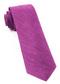 Festival Textured Solid Azalea Tie
