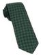 Medallion Medley Hunter Green Tie